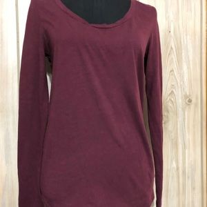 Pink Victoria Secret Round Neck Long Sleeve Top
